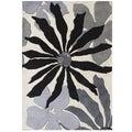 Alliyah Handmade White Sand New Zealand Blend Wool Rug  (9' x 12')