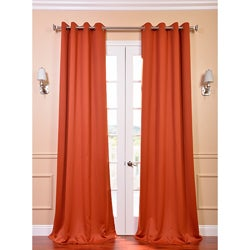 Blaze Grommet Blackout Thermal Curtain Panel Pair
