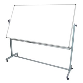 Office Accents Mobile Reversible Magnetic Whiteboard