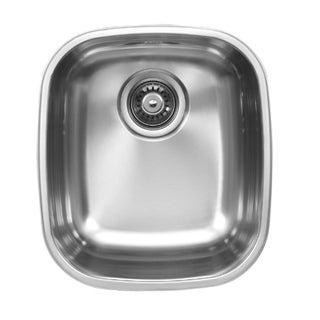 Ukinox D345.10 Single Basin Stainless Steel Undermount Kitchen Sink