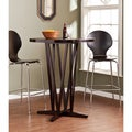 Upton Home Hubert Dark Espresso Bar Table