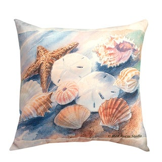 Seashell Decorative Pillow 20-inch