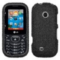 BasAcc Black Diamante Protector Case For LG Vn251 Cosmos 2