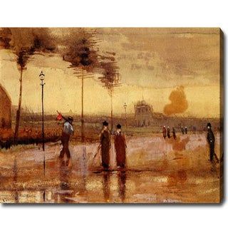 Vincent Van Gogh 'A Sunday in Eindhoven' Oil Canvas Art