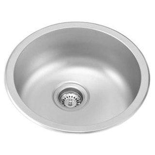 Ukinox UN446 Single Basin Stainless Steel Dual Mount Kitchen Sink