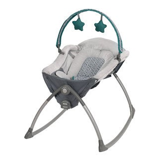 Graco Little Lounger Rocking Seat + Vibrating Lounger in Ardmore