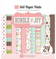 "Bundle Of Joy Girl Double-Sided Cardstock Pad 6""X6"" 24/Sheet-24 Double-Sided Sheets"