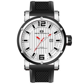 Oceanaut Men's 'Loyal' White Dial Watch