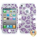 BasAcc Leopard/ Diamante TUFF Hybrid Case for Apple iPhone 4/ 4S