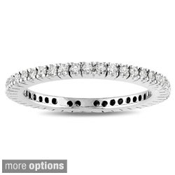 Miadora 14k Gold 1/3ct TDW Certified Diamond Wedding Band (G-H, I1-I2)