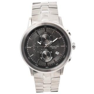 Kenneth Cole New York Men's Gunmetal Grey Chronograph Watch