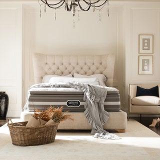 Beautyrest Recharge World Class Rekindle Plush Super Pillow Top California King-size Mattress Set