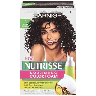 Garnier Nutrisse Dark Brown 4 Nourishing Color Foam