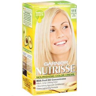 Garnier Nutrisse Extra Light Ash Blonde 111 Nourishing Color Creme