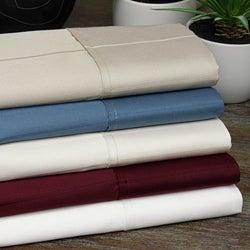 Pin Stripe 620 Thread Count Sateen Sheet Set