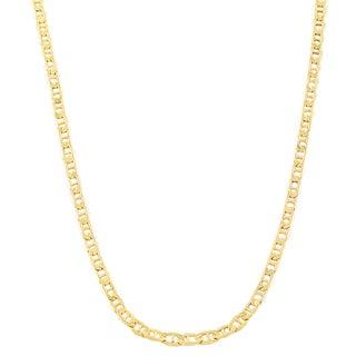 Fremada 10k Yellow Gold 2.4 mm Mariner Link Chain (18 - 24 inches)