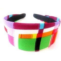 Crawford Corner Shop Retro Multicolor Abstract Headband