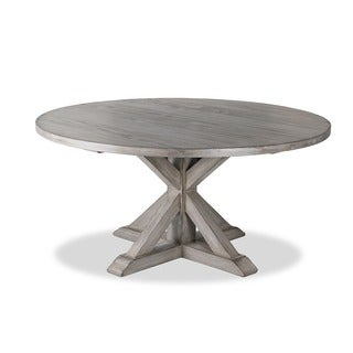 La Phillippe Reclaimed Wood Round Dining Table Today 1