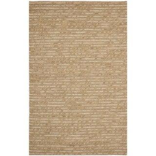 Safavieh Hand-knotted Bohemian Beige Wool Rug (9' x 12')