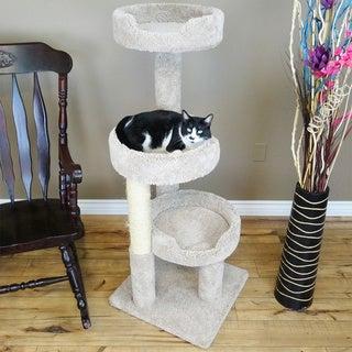 """New Cat Condos 50"""" Premier Kitty Pad Cat Tree"""