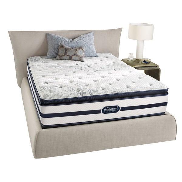 Beautyrest Recharge 'Maddyn' Plush Pillow Top Queen-size Mattress Set