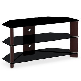 Bush Segments Collection Prestige Cherry Corner TV Stand