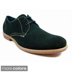 Ferro Aldo Men's Faux Suede Round Toe Desert Oxfords