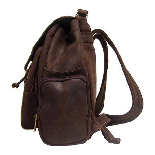 LeDonne DS-01 Distressed Leather Chocolate