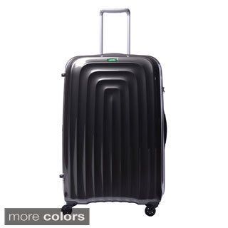 Lojel Wave Polycarbonate 30-inch Large Upright Spinner Suitcase