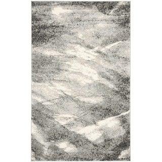 Safavieh Retro Grey/ Ivory Rug (8'9 x 12')