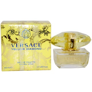 Versace 'Yellow Diamond' Women's 1.7-ounce Eau de Toilette Spray