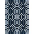 Links Navy Indoor/ Outdoor Rug (7'10 x 10'10)