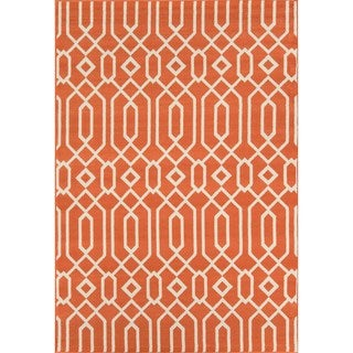 Links Orange Indoor/ Outdoor Rug (8'6 x 13')
