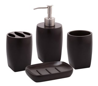Jovi Home Allure Bath Accessory 4-piece Set