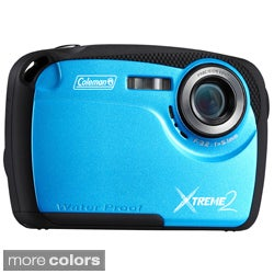 Coleman Xtreme2 C12WP 16 MP Waterproof Digital Camera with HD Video