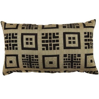 Nanyang Black 17-inch Throw Pillows (Set of 2)