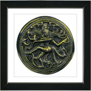 Studio Works Modern 'Shiva Dancing' Framed Art Print
