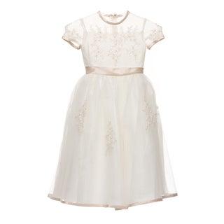Sweetie Pie Girls Scoop Neck Special Occasion Dress