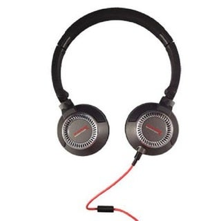 Soniq Nitro Lightweight DJ Black Headphones with Talk