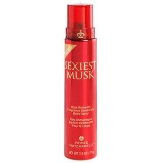 Prince Matchabelli Sexiest Musk Women's 2.5-ounce Fragrance Body Spray
