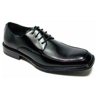 Delli Aldo Men's Classic Square Toe Oxfords