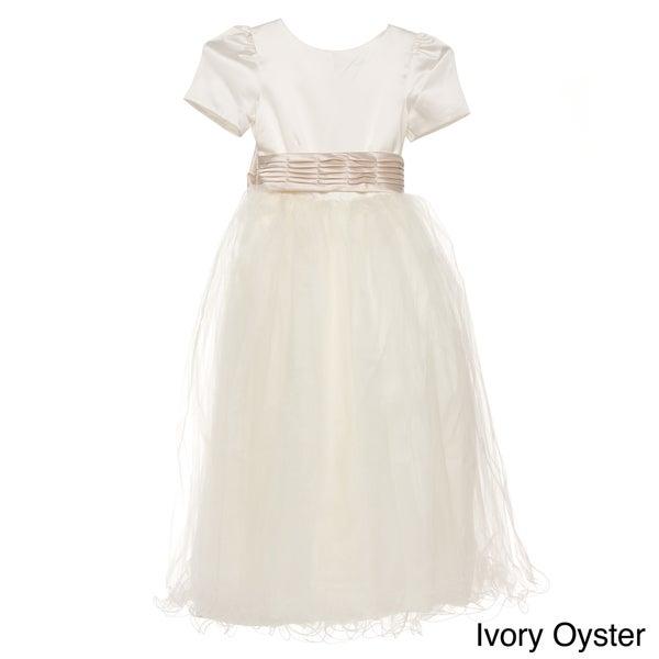 Sweetie Pie Girls Special-Occasion Ivory Dress