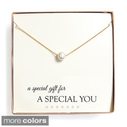 'Special Gift' Pearl Necklace Gift Set (8 mm)