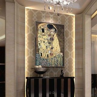 Gustav Klimt 'The Kiss' Wall Tapestry
