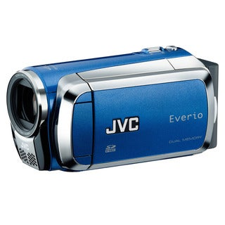 JVC GZ-HM200 Everio S High Definition Sapphire Blue Camcorder