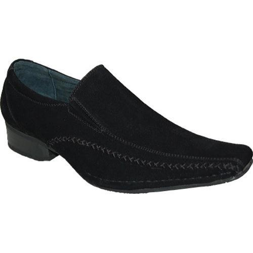 Men's Giorgio Baccini My Suede Look Shoes Black