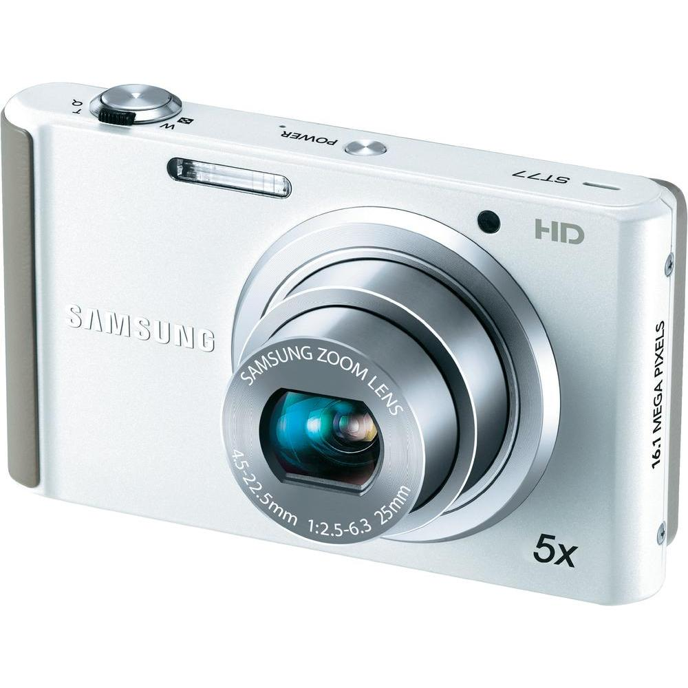Samsung ST77 16.1MP White Digital Camera