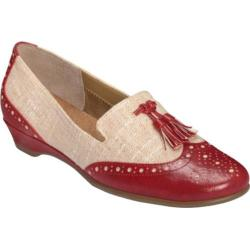 Women's Aerosoles Cream Sota Red Combo