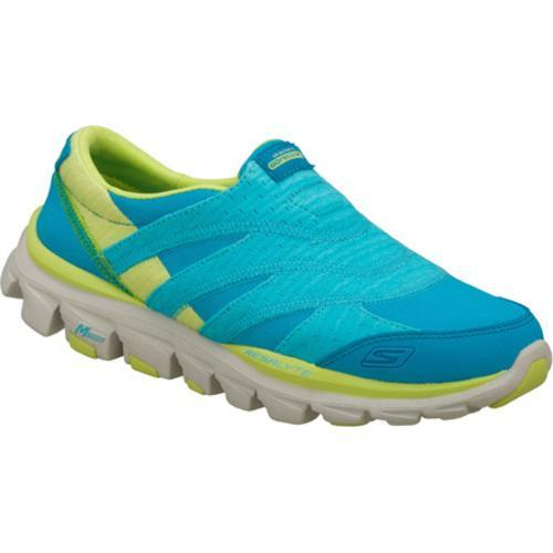 Women's Skechers GOride Recovery Blue/Green