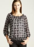 Spense Tribal Print Blouse